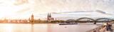 Köln, Rheinufer mit Dom, Groß St. Martin und Hohenzollernbrücke  - 199794015