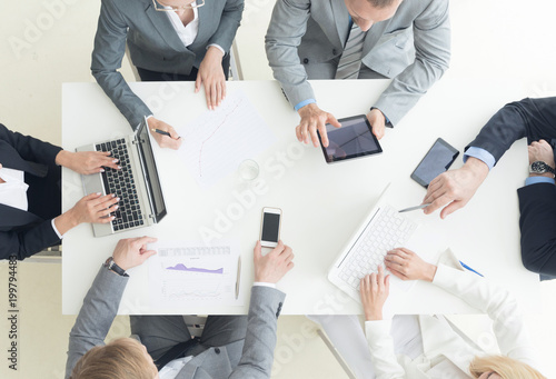 Business team meeting