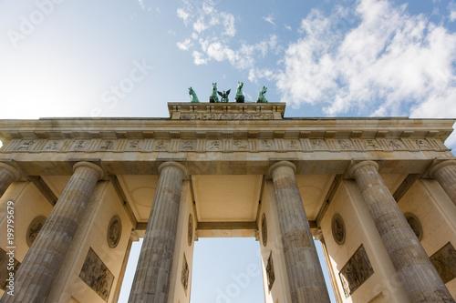 Poster Berlijn Brandenburger Tor, Berlin