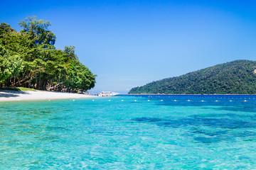 Beautiful summer beach. Lipe island, Koh Lipe, Satun province Thailand
