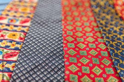 a648490a62a0 Colorful tie collection in the men's shop | Buy Photos | AP Images ...