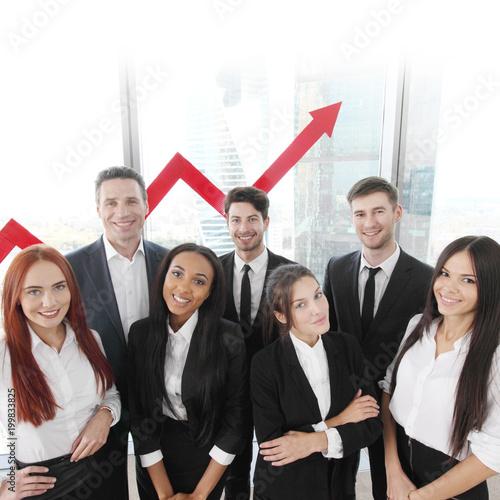 Fridge magnet Business Team
