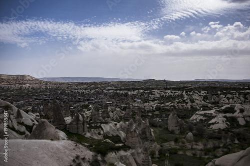 Foto op Plexiglas Zwart cappadocia