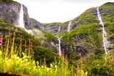 Waterfalls innorwegian mountains