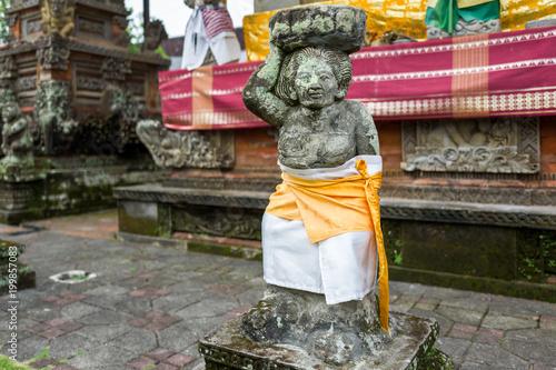 Keuken foto achterwand Bali The Batuan temple in Bali