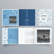 Brochure design, brochure template, creative tri-fold, trend brochure - 199884615