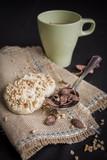 cafe te desayuno con pastas - 199900288