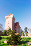 tower of Royal castle of Poznan, Poland