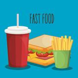 delicious fast food icon vector illustration design - 199924059