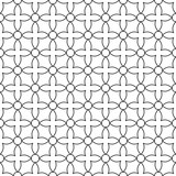 Seamless ornamental pattern - simple design. Vector geometric background - 199928077