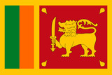 Sri Lanka Flag Vector Flat Icon - 199940626