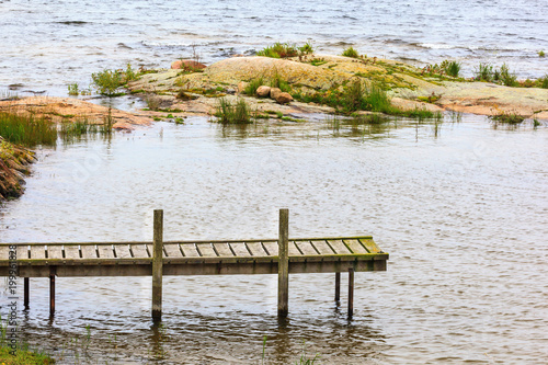 Plexiglas Pier Wooden jetty
