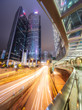 Traffic on streets of Hong Kong at night, China - 199964069