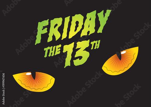 Fototapeta Friday the 13th