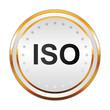 Luxus Button weiß - ISO