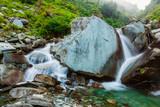 Bhagsu waterfall. Bhagsu, Himachal Pradesh, India