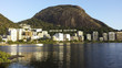 Quadro Ipanema, Leblon and Freitas Lagoon, Rio de Janeiro Brazil, South America