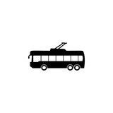 trolleybus icon. Element of car type icon. Premium quality graphic design icon. Signs and symbols collection icon for websites, web design, mobile app