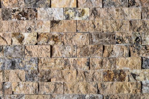 Płytka, mozaika z bloków kamiennych