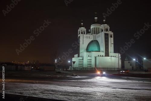 Foto op Plexiglas Kiev Beautiful catalytic church in the evening light. Kiev, Ukraine