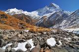 Nepal, Annapurna Conservation Area, Trek to Annapurna Base Camp in Nepal Himalaya. - 200074405