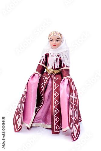 Beautiful porcelain doll in Oriental Arabic style