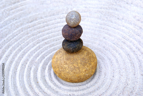 Fotobehang Stenen in het Zand zen, stone, sand, balance, rock, stones, meditation, spa, harmony, zen garden, pebble, garden, relaxation, spirituality, natural, massage, feng shui, mineral, abstract, simplicity, peace, concentratio