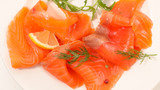 salmon fillet and dill - 200097813