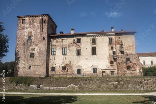 Fotobehang Milan Melegnano, Milan, Italy: the castle