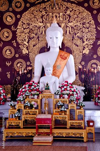 Fotobehang Boeddha The Buddha is not the world.