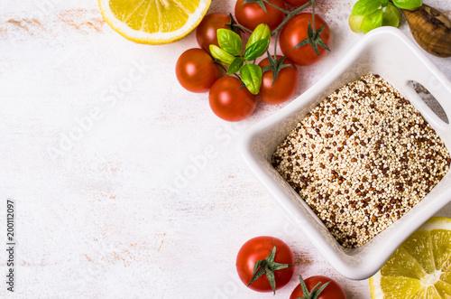 Sucha mieszanka ziarna quinoa