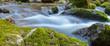 Panorama Bach mit Wasser und Felsen - 200116260