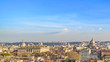 Rome Cityscape Aerial View from Trastevere Hill