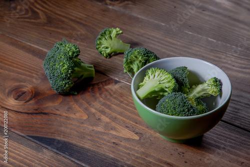 Foto Murales Vegetal brocoli saludable