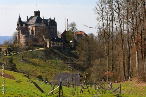 Schloss Berlepsch bei Witzenhausen in Nordhessen Poster