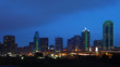The skyline of Dallas at night