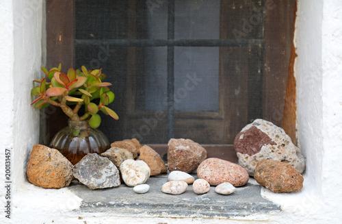 Foto op Canvas Zen piedras zen ventana 4M0A1789-f18