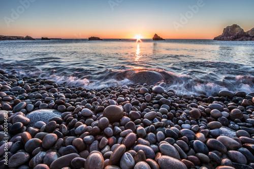 Foto Murales Pebble Beach in Foreland Point II , Ireland