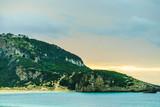 Voidokilia Beach Navarino castle, Greece