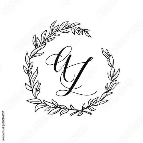 wedding wreath element