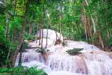 Waterfall located in the Mae Ngao district of Lampang solve a small waterfall located. A limestone waterfall is beautiful. One of Ngao about 10 meters high and has a small layer 6-7 layers with abunda