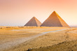 The pyramids at Giza in Egypt
