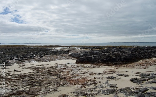 Plexiglas Grijs Shoreham Beach - Victoria, Australia