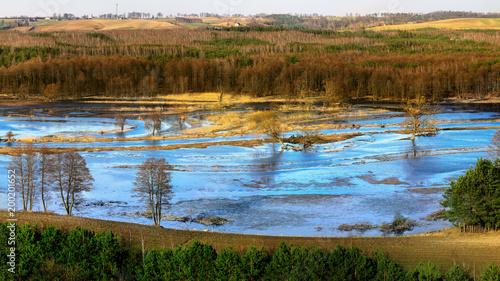 wiosna nad rzeką Drwęcą