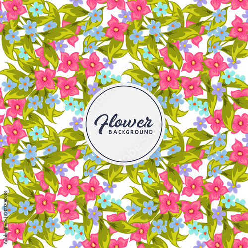 floral seamless pattern - 200206838