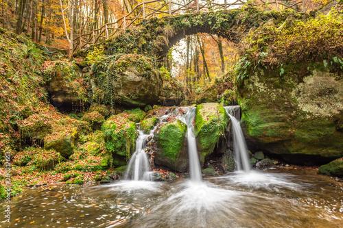 Schiessentumpel Waterfall, Mullerthal Trail, Luxembourg © amalasi