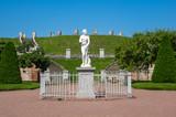 Statue in lower garden of Peterhof - 200214201