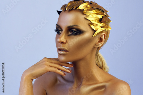 Foto Murales Golden Lady