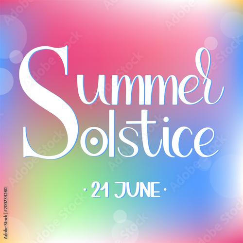 Summer solstice lettering elements for invitations posters summer solstice lettering elements for invitations posters greeting cards m4hsunfo