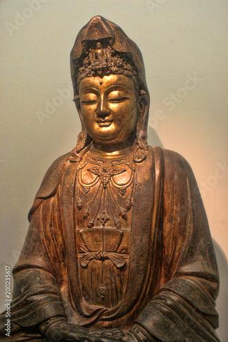 Foto op Canvas Zen Beautiful statue of Buddha, Taipei, Taiwan